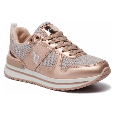 Sneakersy U.S. POLO ASSN. - Vema1 WIDA4160W8/TY1 Met Copp