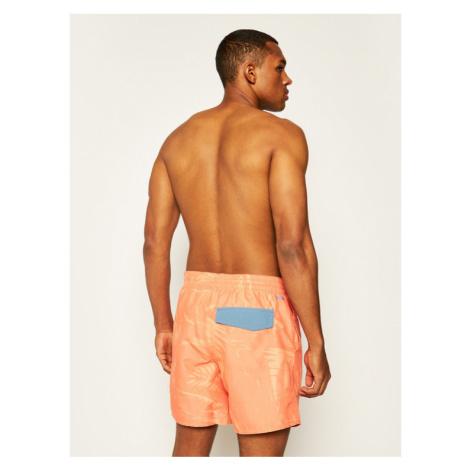 O'Neill Szorty kąpielowe Cali Floral Swim 0A3228 Pomarańczowy Regular Fit