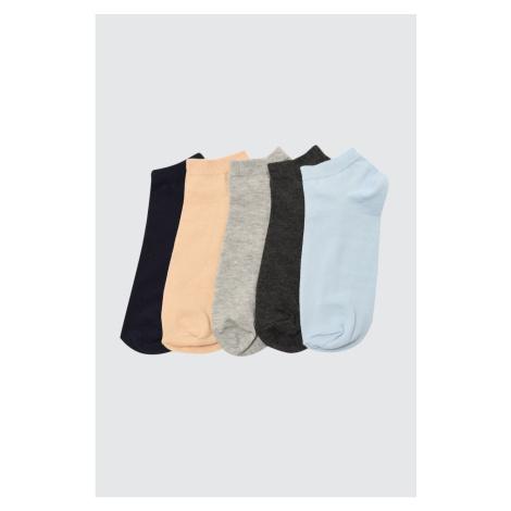 Trendyol MulticolorEd Męskie skarpety 5 Pack Socket