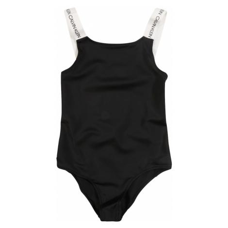 Calvin Klein Swimwear Strój kąpielowy czarny