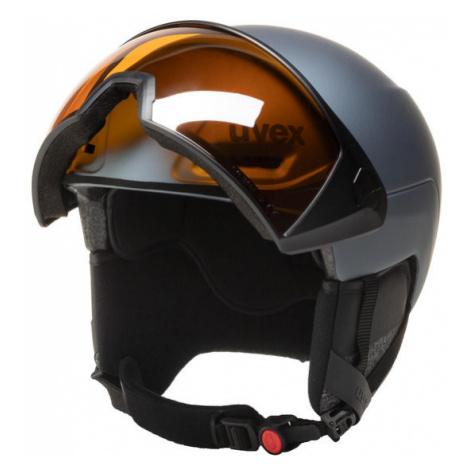 Uvex Kask narciarski Hlmt 700 Visor 5662375003 Szary