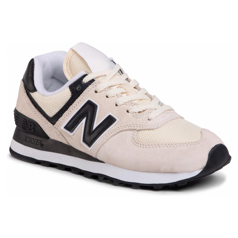 Sneakersy NEW BALANCE - WL574LBA Beżowy