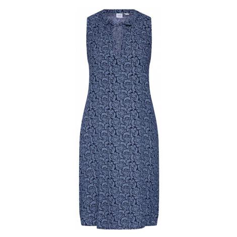 GAP Letnia sukienka jasnoniebieski / ciemny niebieski