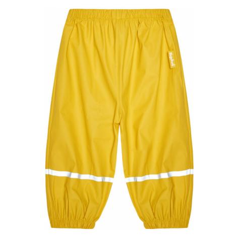 Playshoes Spodnie zimowe 405421 M Żółty Regular Fit