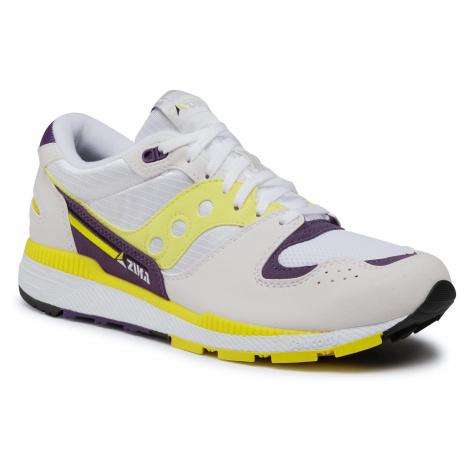 Sneakersy SAUCONY - Azura S70437-34 Wht/Yel/Ind