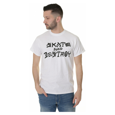 koszulka Thrasher Skate & Destroy- White