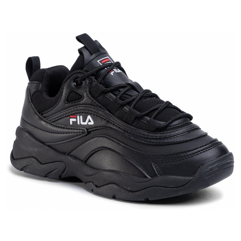 Sneakersy FILA - Ray Low Wmn 1010562.12V Black/Black