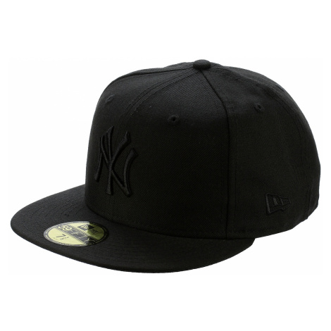 czapka z daszkiem New Era 59F Basic Black On Black MLB New York Yankees - Black