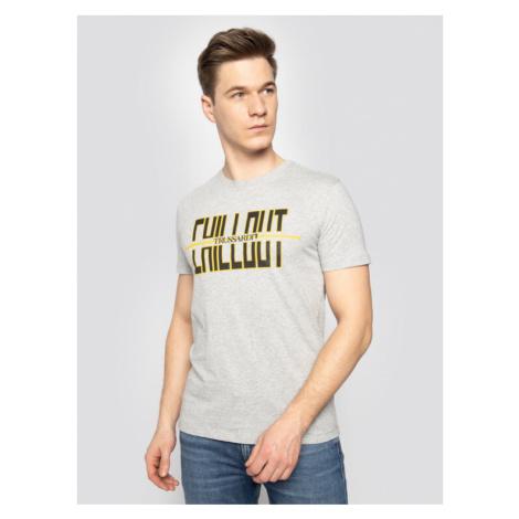 Trussardi Jeans T-Shirt 52T00325 Szary Regular Fit