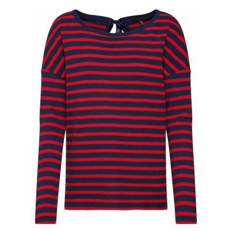 ONLY Koszulka 'SANNA' niebieska noc / czerwony