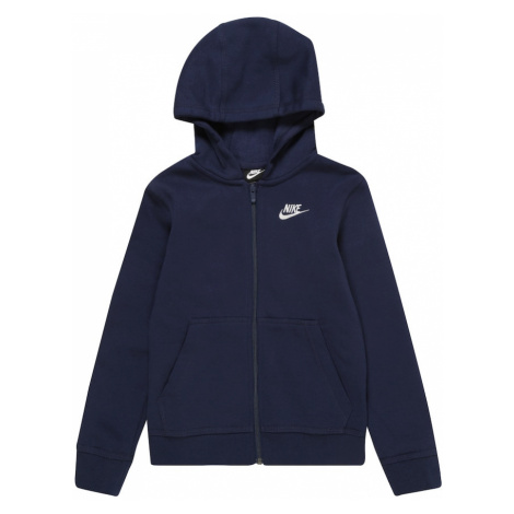 Nike Sportswear Bluza rozpinana granatowy