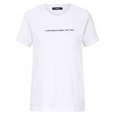 DIESEL Koszulka 'T-SILY-WR' biały