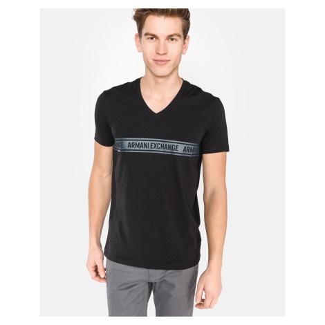 Armani Exchange Koszulka Czarny