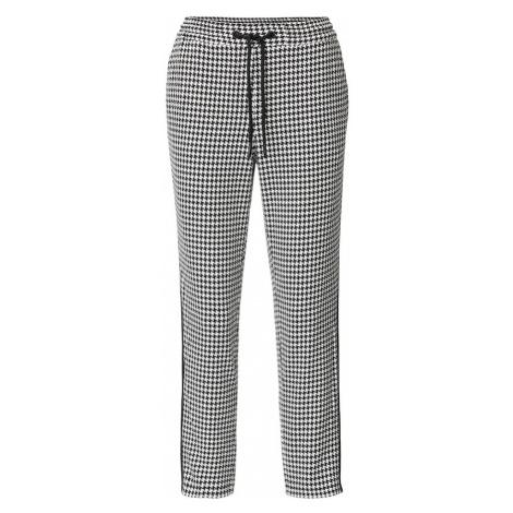 Marc O'Polo DENIM Spodnie czarny / biały