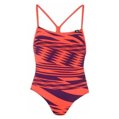 Adidas Pro Print Swimsuit Junior Girls