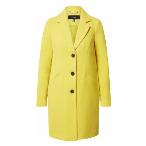 VERO MODA Płaszcz przejściowy 'CALACINDY' żółty