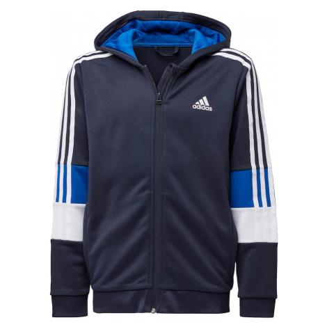 ADIDAS PERFORMANCE Koszulka funkcyjna biały / atramentowy / królewski błękit