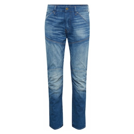 G-STAR RAW Jeansy '5620 (ELWOOD) 3D STRAIGHT' niebieski denim