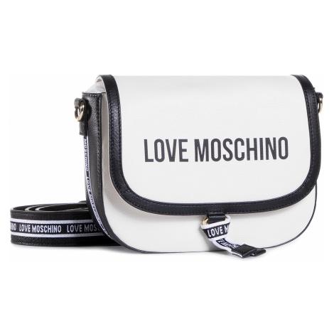 Torebka LOVE MOSCHINO - JC4108PP1BLR110A Natural Grain Mix Bia/Nero