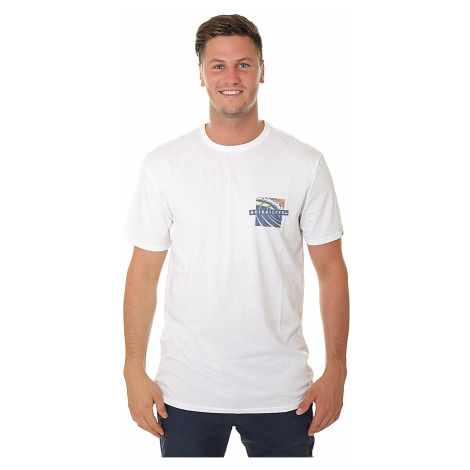 koszulka Quiksilver Tropic Eruption - WBB0/White