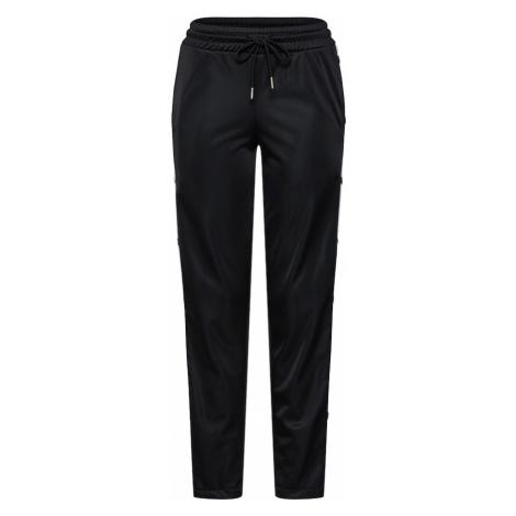 Urban Classics Spodnie czarny / biały