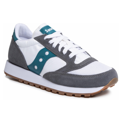 Sneakersy SAUCONY - Jazz Original S70368-11 Gry/Wht/Tea