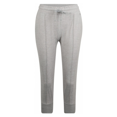 GAP Spodnie 'BRUSHED JERSEY FRONT SEAM CROP JOGGER' szary