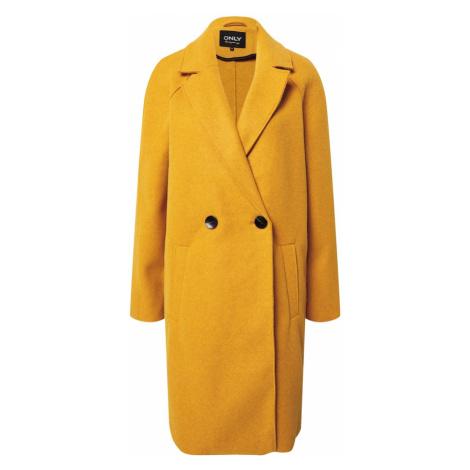 ONLY Płaszcz przejściowy 'Berna' żółty