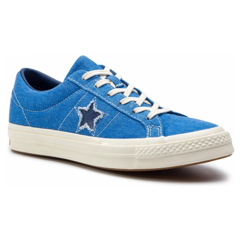 Tenisówki CONVERSE - One Star Ox 164359C Totally Blue/Navy/Egret