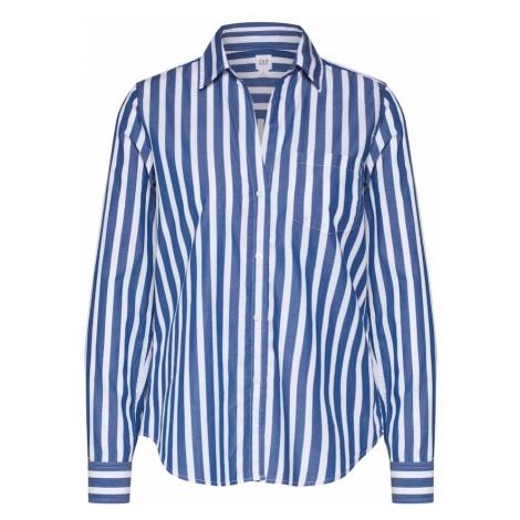 GAP Bluzka niebieski / biały
