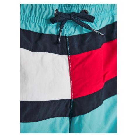 TOMMY HILFIGER Szorty kąpielowe Medium Drawstring UB0UB00176 M Niebieski Regular Fit