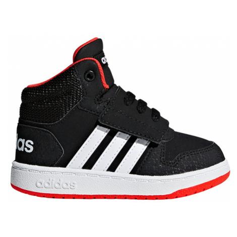 Adidas Hoops Mid 2.0 Dziecięce Czarne (B75945)