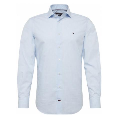 Tommy Hilfiger Tailored Koszula biały / jasnoniebieski