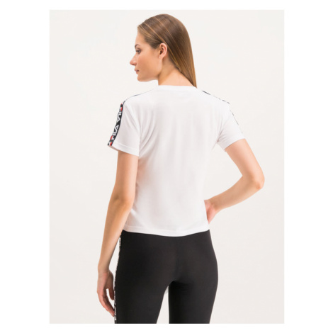 Fila T-Shirt Adalmiina 687215 Biały Regular Fit