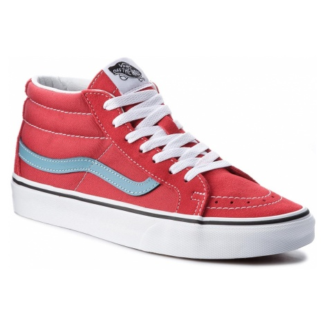 Sneakersy VANS - Sk8-Mid Reissure VN0A3MV8Q8C Rococco Red/Adriatic Blue