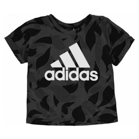 Adidas Essentials AOP T Shirt Ladies