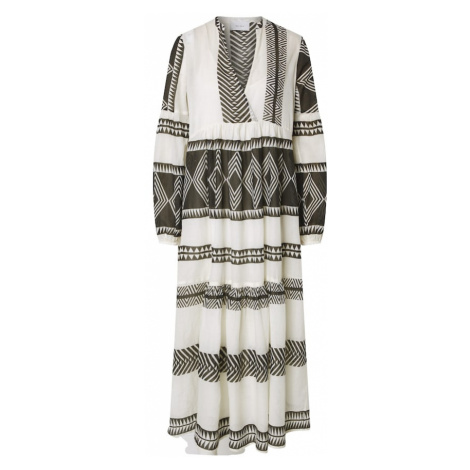 Neo Noir Letnia sukienka 'Miles Big Aztec' czarny / naturalna biel