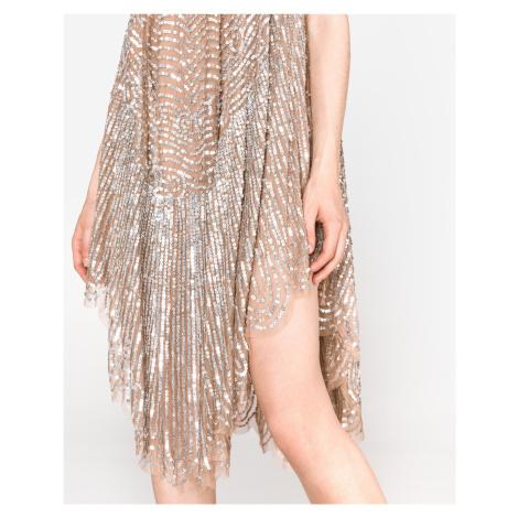TWINSET Sukienka Srebrny