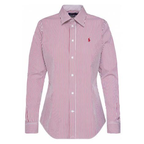 POLO RALPH LAUREN Bluzka 'KENDAL' czerwony / biały