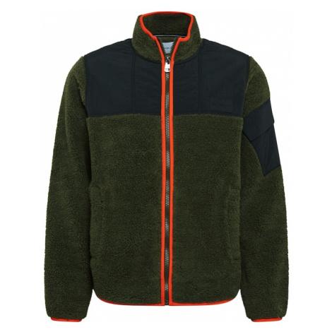 Calvin Klein Jeans Kurtka przejściowa khaki / granatowy / pomarańczowy