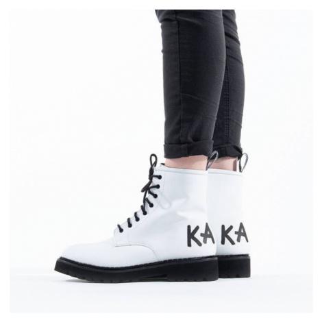 Buty damskie Karl Lagerfeld Troupe Brush Logo Boot KL45450 011
