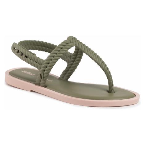 Sandały MELISSA - Flash Sandal + Salinas 32630 Green/Pink 50961