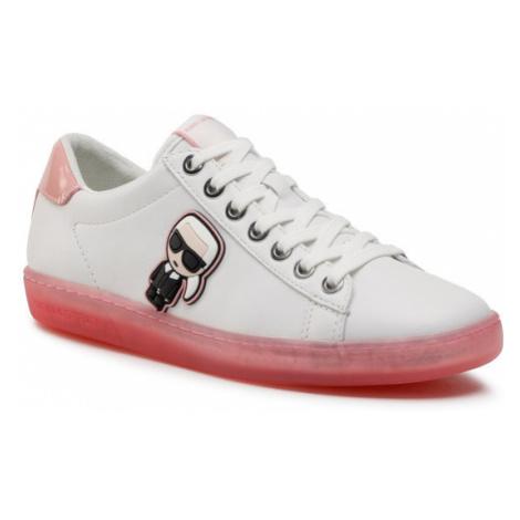 KARL LAGERFELD Sneakersy KL61229 Biały