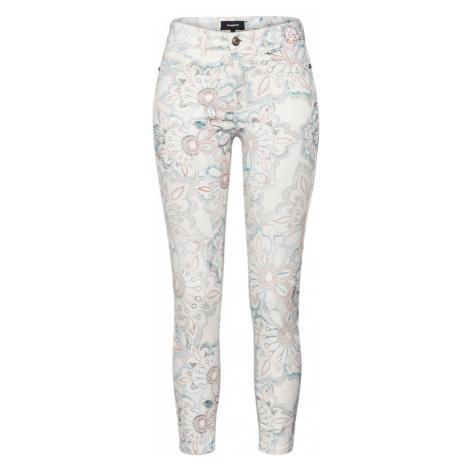 Desigual Spodnie 'DELFOS' mieszane kolory / offwhite
