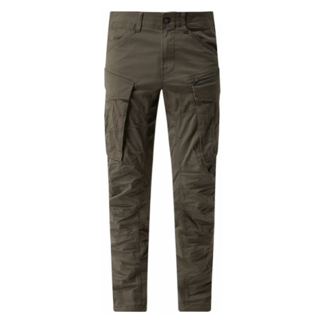 Spodnie cargo o kroju straight tapered fit z dodatkiem streczu model 'Rovic' G-Star Raw