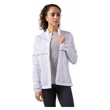 Reebok Run Hero Reflective Jacket W Biała