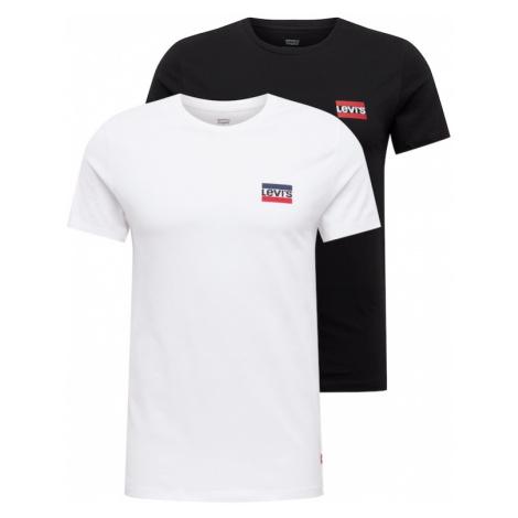 LEVI'S Koszulka czarny / biały Levi´s
