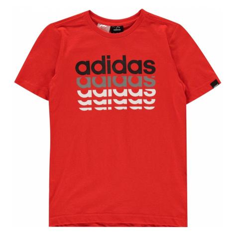 Koszulka męska Adidas Repeat Linear QT