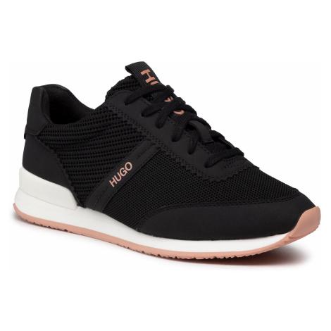 Sneakersy HUGO - Adrienne 50447293 10233100 01 Black 001 Hugo Boss
