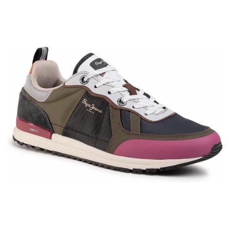 Sneakersy PEPE JEANS - Tinker Pro Sup PMS30622 Khaki Green 765
